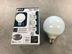 TCP 2G2514 14W 120V 2700K G25 Compact Fluorescent Lamp