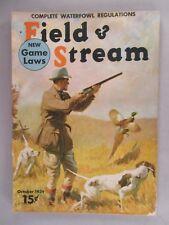 Field & Stream Magazine - October, 1939 ~~ Field and Stream