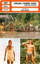 FICHE CINEMA : TARZAN L'HOMME SINGE - Bo Derek,R.Harris,J.Derek 1981 The Ape Man