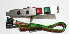 ATX Power Bracket - PC case power/reset switches & PWR/HD LED's on a PCI Bracket