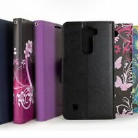 Wallet Pouch Flip Stand Phone Cover Case and Screen Protector for LG Treasure