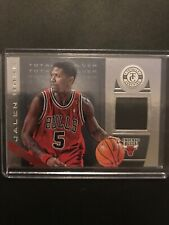 NBA Jersey Card Jalen Rose Panini Totally Certified 2013-14