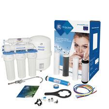 Aquafilter 5 etapas Sistema de Osmosis inversa membrana 75GPD