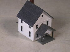 Z Scale 2 Story White House with dormer front porch, type #8