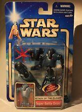 Star Wars-Attack of the Clones-Super Battle Droid-Krieg der Sterne-Neu-Hasbro
