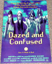 DAZED & CONFUSED 1993 ORIG. MOVIE POSTER! MILLA JOVOVICH STONER COMEDY CLASSIC!