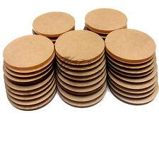 "50 Acrylic 1-3/8""dia.x1/8"" Circle Clear Disc Craft Plastic Plexiglass Shape USA!"