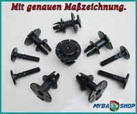 5x KUNSTSTOFF STIFT DISTANZCLIPS SEITENSCHWELLER BMW 1er 3er 6er X1 07147122913
