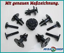 10 X Faldón Lateral Piezas Nietstift Nietkörper para BMW 07147122912 07147122913