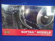 2008 Harley Davidson softail owners manual heritage fatboy night train springer