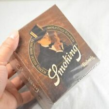 Smoking-50-booklets-110mm-Good-quality-king-Size-Brown-Rolling-paper