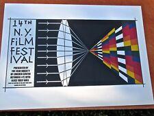 Allan D Arcangelo for Fourteenth New York Film Festival  16X11 LC
