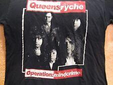 Vintage QUEENSRYCHE Concert  T-Shirt 1988 Size XL True Vintage Original