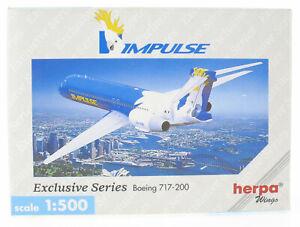 Herpa Wings 512626 - Boeing 717-200 IMPULSE mit Registration - 1:500 Flugzeug