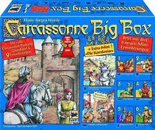 Carcassonne Big Box - Grundspiel + 9 Erweiterungen   TOP NEU OVP