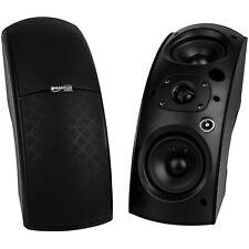 Franklin Audio CS90B Arc Array 70V / 100V Indoor/Outdoor Speaker Pair Black