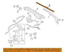 TOYOTA OEM 07-15 Tundra Wiper Arm-Front Blade 852220C030