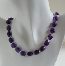 "Handmade Amethyst 18 - 19.99"" Fine Necklaces & Pendants"