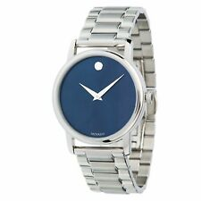 Movado 2100015 Men's Museum Stainless Steel Quartz Watch
