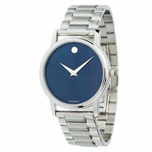 Movado 2100015 Men's Museum Stainless Steel Quartz Watch