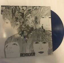 The Beatles Revolver Re Print, Blue Vinyl, Unplayed, Unsealed in Plastic
