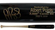 Albert Pujols Autographed Los Angeles Angels Marucci 3000th Hit Bat BAS 24648
