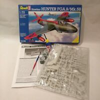 Revell, 1:72, Hawker Hunter FGA.9/Mk.58 (04186) Box open, bag sealed.