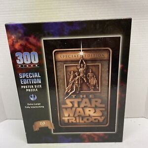 New Star Wars Trilogy Special Edition Puzzle Sealed 300 pieces Poster Size