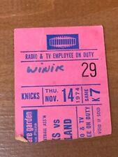 1974 New York Knicks v Cleveland Cavaliers Basketball Dick Snyder 20 points