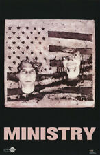 POSTER : MUSIC :MINISTRY      -  FREE SHIPPING !   #7216   RW12 M