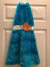 Girls Cookie Monster Halloween Costume Size Large 10/12