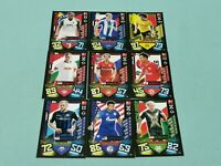 Topps Match Attax 2019/2020 9 x Nationalspieler aus Mini Tin 19/20