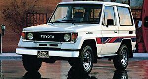 Toyota Land Cruiser II RJ70 LJ70 Bundera Prado Headlight Bezel set Chrome RARE
