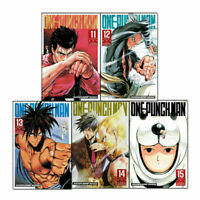 One-Punch Man Volume 11-15 Collection 5 Books Set (Series 3) Children Manga Book
