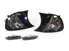 Depo 02-03 BMW E46 2D/Convertible Crystal Smoke Corner Signal +Side Marker Light