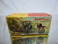 DINKY TOYS 828 BOX for JEEP ROCKET CAR  - ARMY 1:43 - ONLY EMPTY BOX