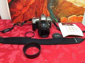 Nikon N75 35mm SLR Film Camera w/ Sigma 28-90 mm 1:3.5-5.6 MACRO Zoom LensTested
