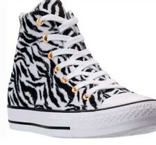 Converse Chuck Taylor High Top Animal Print Casual White/Black 159467C 102 SZ 8
