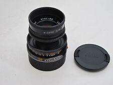"Leica M black 50mm f:2.8 E39 Elmar with hood/caps, #3727180, ""LQQK"""