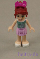 LEGO Friends - Mia, Rock in Hell Pink, Top in Oliv Grün / frnd061 NEUWARE (L02)