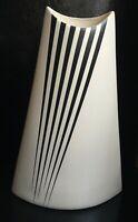 """Mid Century Modern 12"""" Matte Glaze Ceramic Vase"""