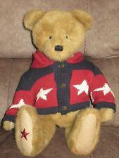 "Boyds Bear ""Dee C. Washington"" musical plays ""Star Spangled Banner"""