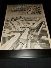 The Sylvers New Horizons Rare Original Promo Poster Ad Framed!