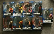 G.I. JOE Classified Series LOT OF 9 BEACH HEAD BLUE EYES COBRA TROOPER TARGET +