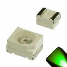 100 x LED PLCC2 1210 3528 Pure Green SMD LEDs Light Super Ultra Bright PLCC-2