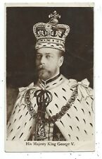 ROYALTY - His Majesty KING GEORGE V.  Davidson Bros Real Photo Postcard