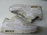 Nike Air Max 90 Essential Gr. 44 / US 10 / 28 cm Nike # 537384-111 white