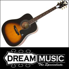 Epiphone Pro-1 Plus Solid Top Acoustic Guitar Vintage Sunburst Finish RRP$399