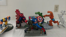 Lot of Loose Marvel Statues - SpiderMan, Wolverine, Captain America and More!
