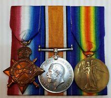 WW1 original medals to Kennard, note 2 numbers